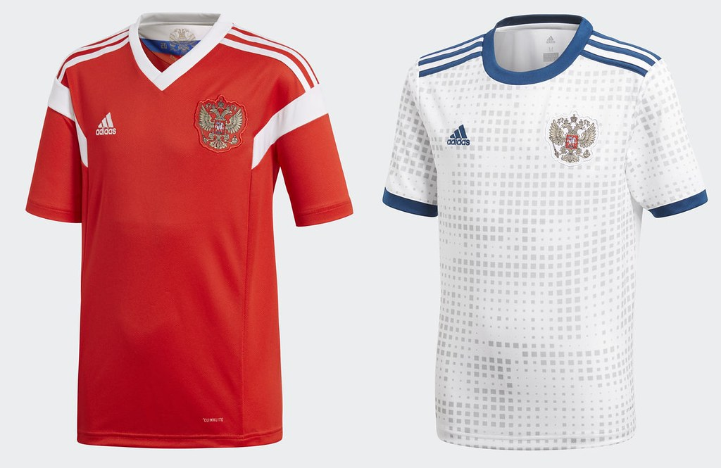 huge discount a56c1 db452 World Cup 2018 Kits - Russia | Russia (Home & Away Jerseys ...