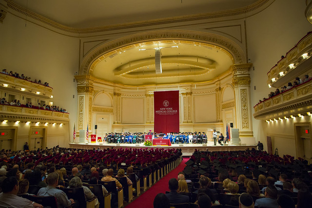 2018 NYMC Commencement at Carnegie Hall, NYC