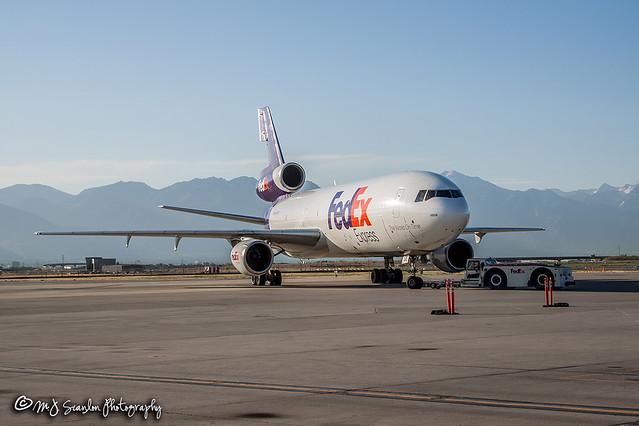 N395FE FedEx    McDonnell Douglas MD-10-10F   Salt Lake City International Airport