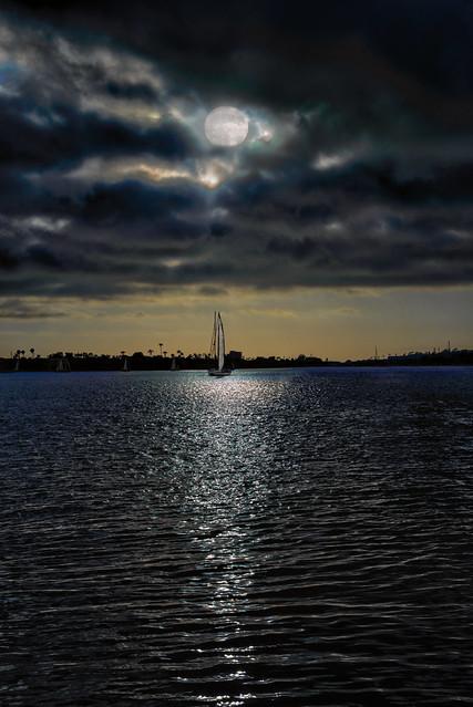 Sunset Moon