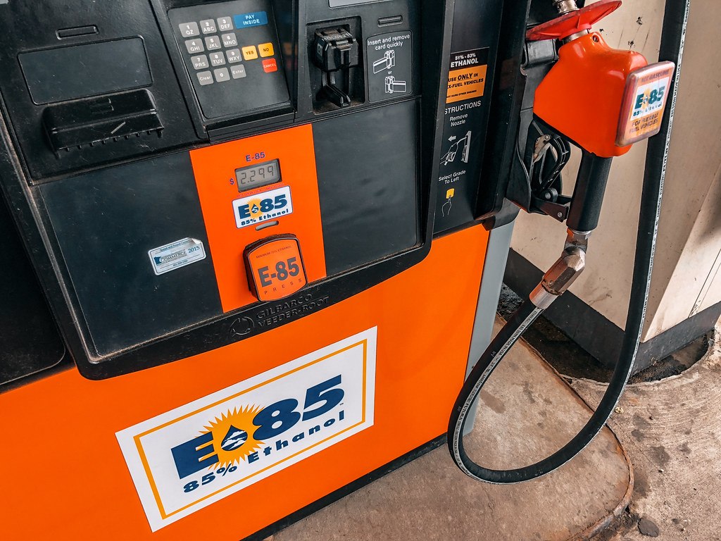 Flex Fuel Gas Stations >> E 85 85 Ethanol Gas Pump For Flex Fuel Vehicles Flickr