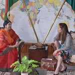 Speaker of Bangladesh Parliament & Malini TAGS