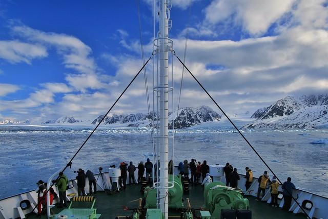 Crucero polar en Svalbard