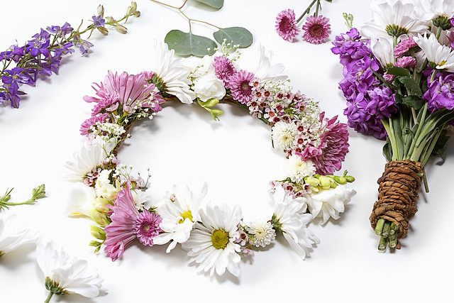 Flower Crown with Materials