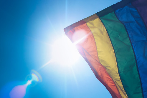 rainbow flag | by stockcatalog