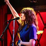 Thu, 31/05/2018 - 7:18pm - Natalie Prass and her band perform live on WFUV Radio from Rockwood Music Hall in New York City, 5/31/18. Hosted by Russ Borris. Photo by Gus Philippas/WFUV