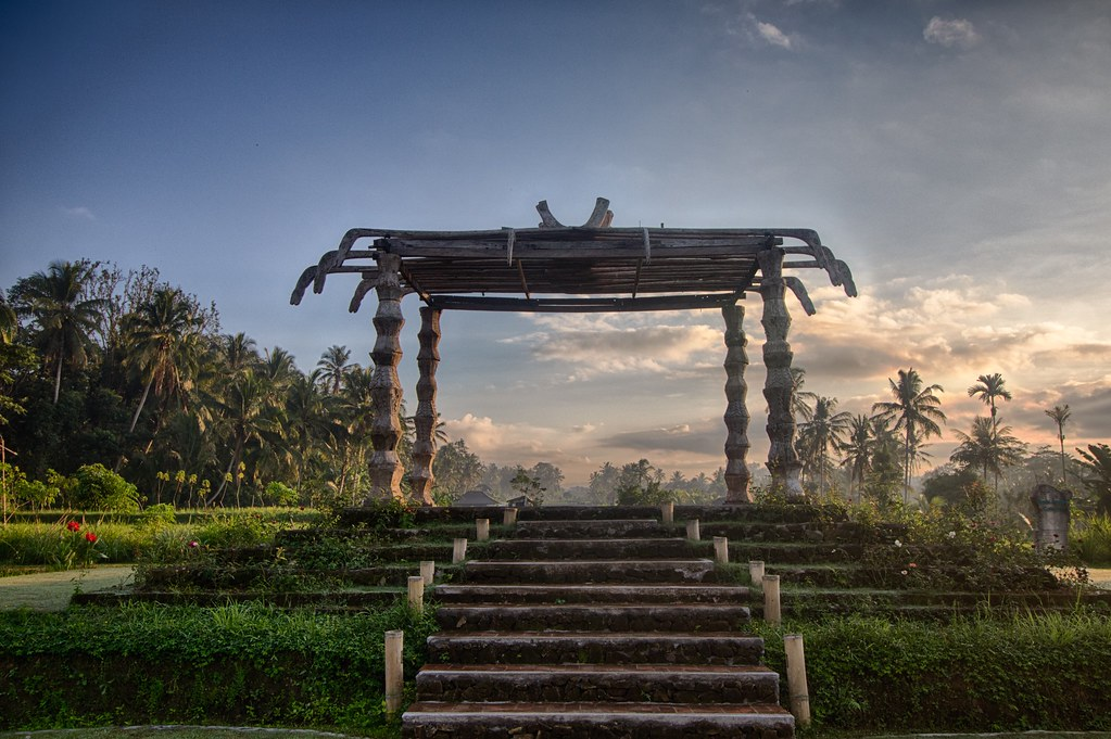 Morning in Ubud, Bali