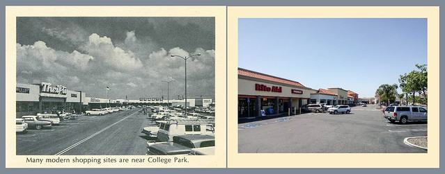 Eastgate Shopping Center - Then and Now, 1965 and 2018