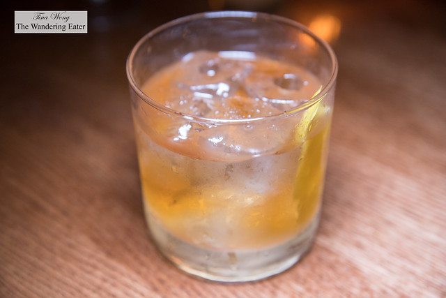 Old Gator - Rye, cocchi, montenegro, bitters, on the rocks