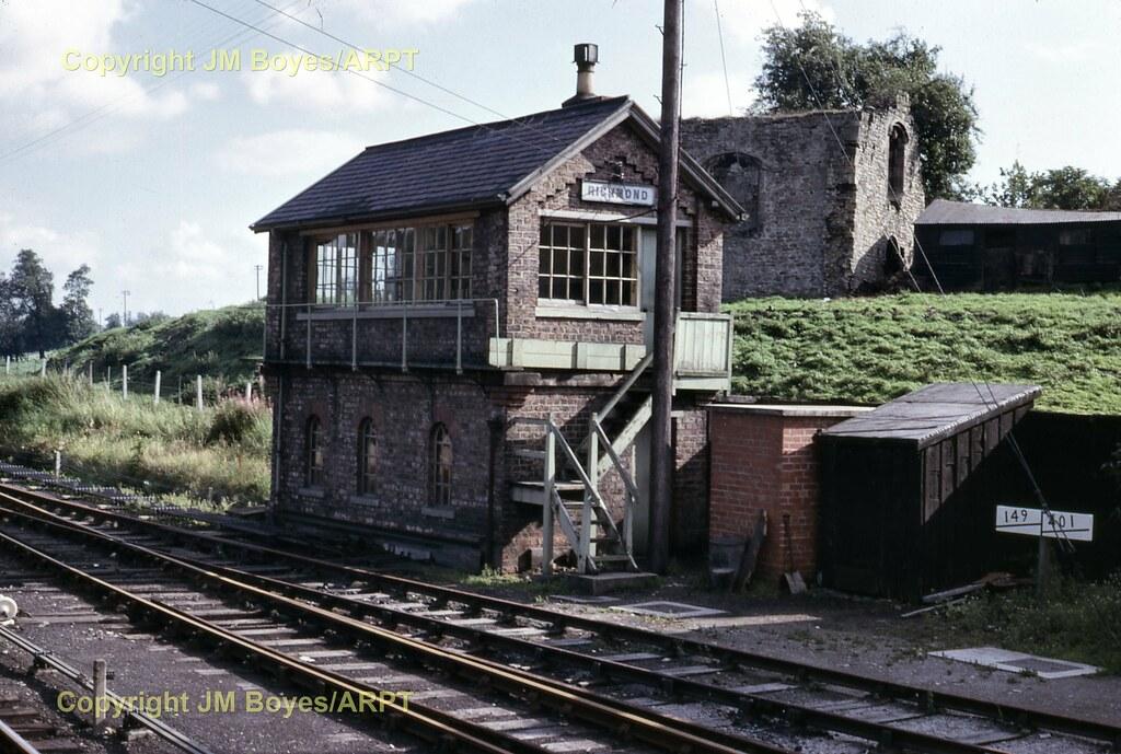 Moulton Line. Scorton 3 Catterick Bridge Railway Station Photo Richmond