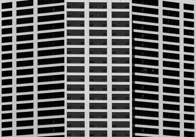 Tilted squares.
