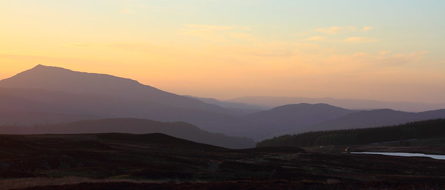 Last of the light, Perthshire