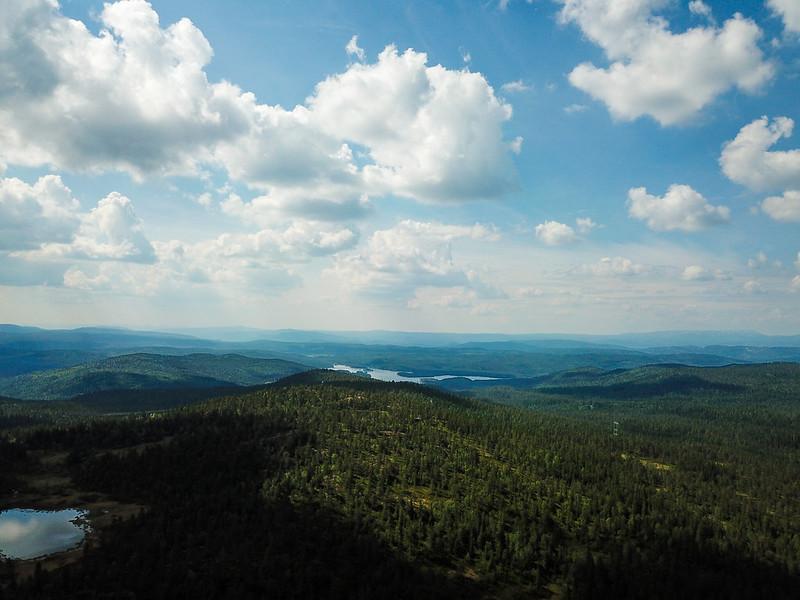 15-Utsikt mot Luvnesvannet (drone)