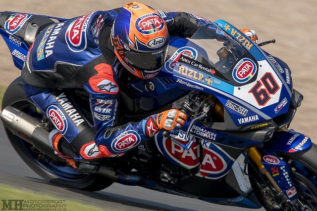 Michael van der Mark #60, Pata Yamaha World Superbike Team