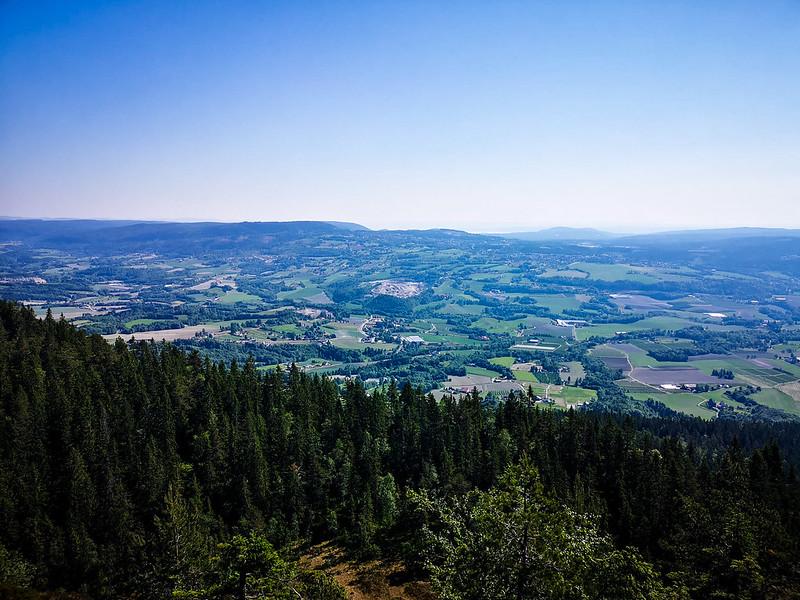 07-Utsikt over Lier fra Storsteinsfjell