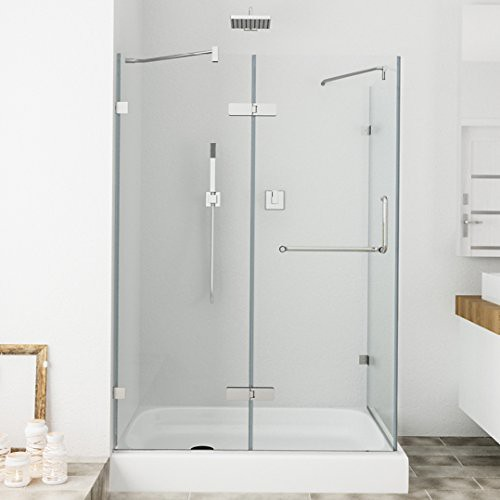 Superieur ... Cheap VIGO Monteray 32 X 48 In. Frameless Shower Enclosure With .375