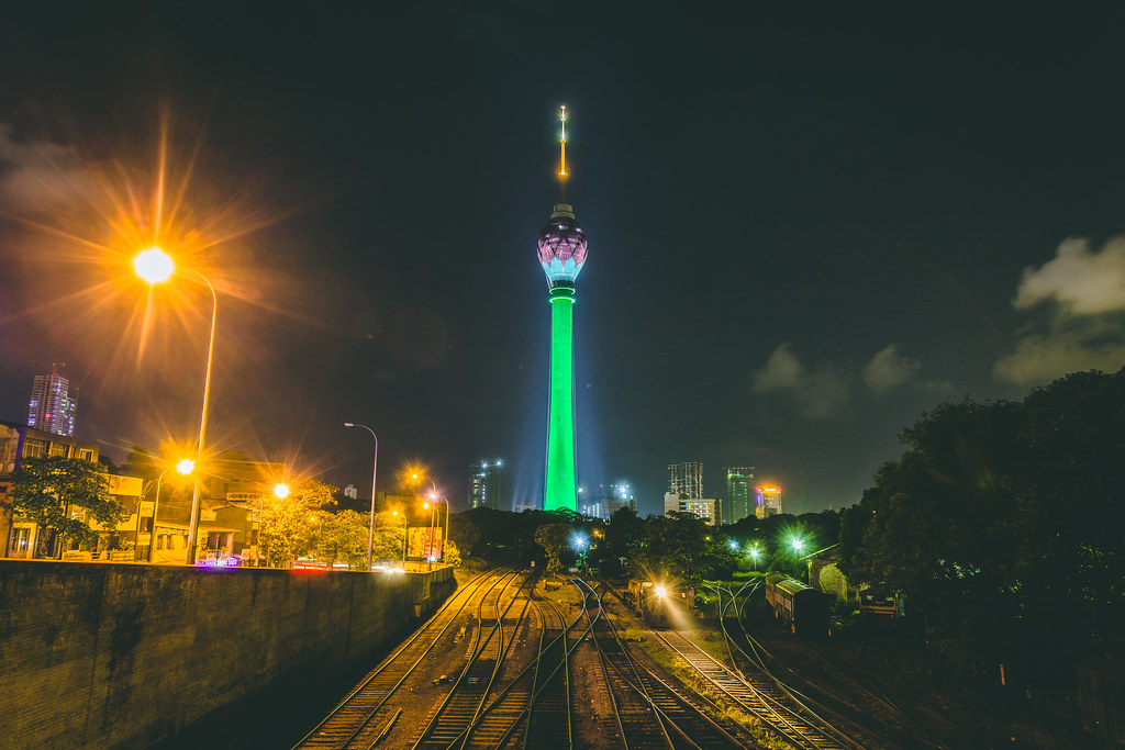 Lotus Tower is LIT! | Nazly Ahmed | Flickr