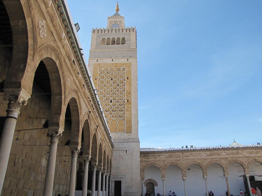 Al Zaytuna Mosque Tunis Tunisia Alexanyan Flickr