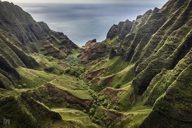 Kauai Heli Tour 26 - Honopū Valley