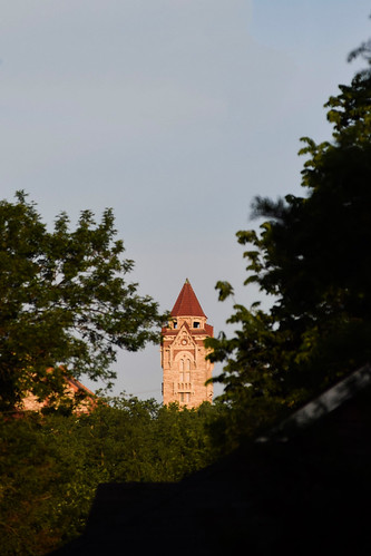 Explore KU from the window of an apartment