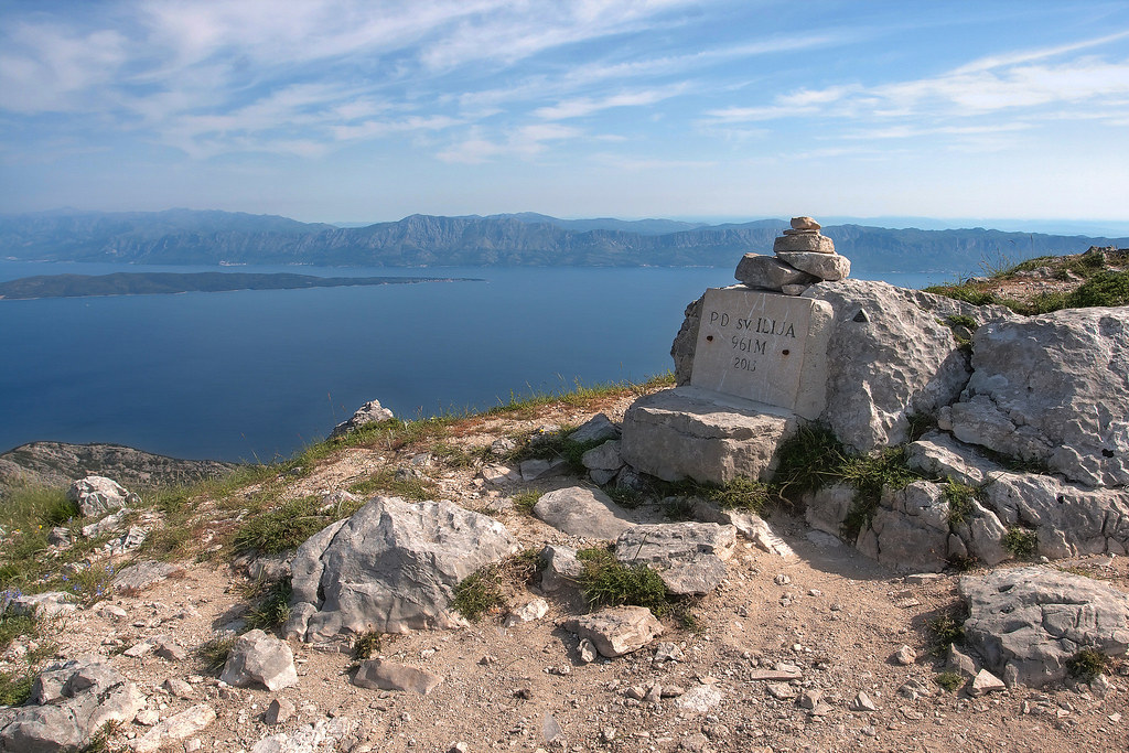 St. Ilija Peak at Peljesac Island