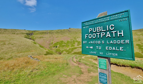 Peak District - Edale via Kinder Downfall hike (63) | by www.beckythetraveller.com