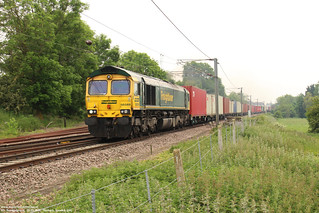 Freightliner 66589 - Barham (UK) 26-05-2018. | by Freight, vintage & special railways