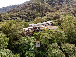 Dronepix above Mashpi lodge, Ecuador | by Pierre Lesage