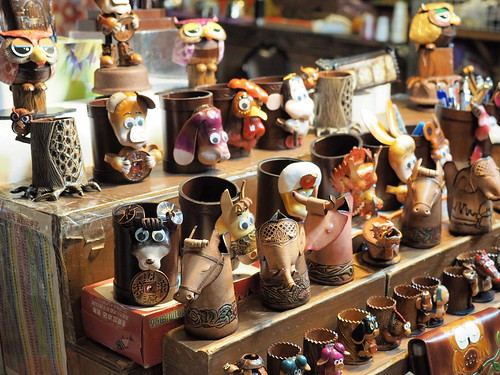 Some of the souvenirs in Taiwan Times Village 寶島時代村 | by huislaw