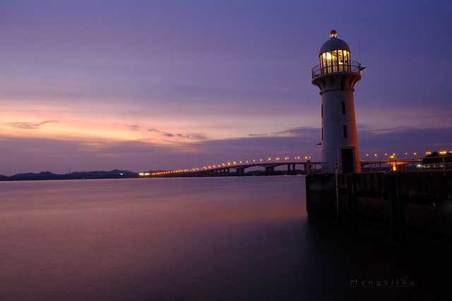 Light house and Two countries