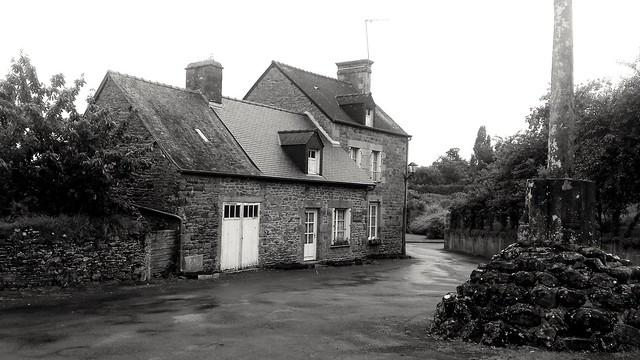 Place de village breton