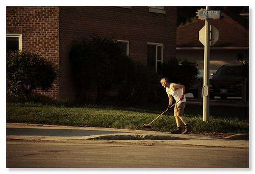 AM clean sweep