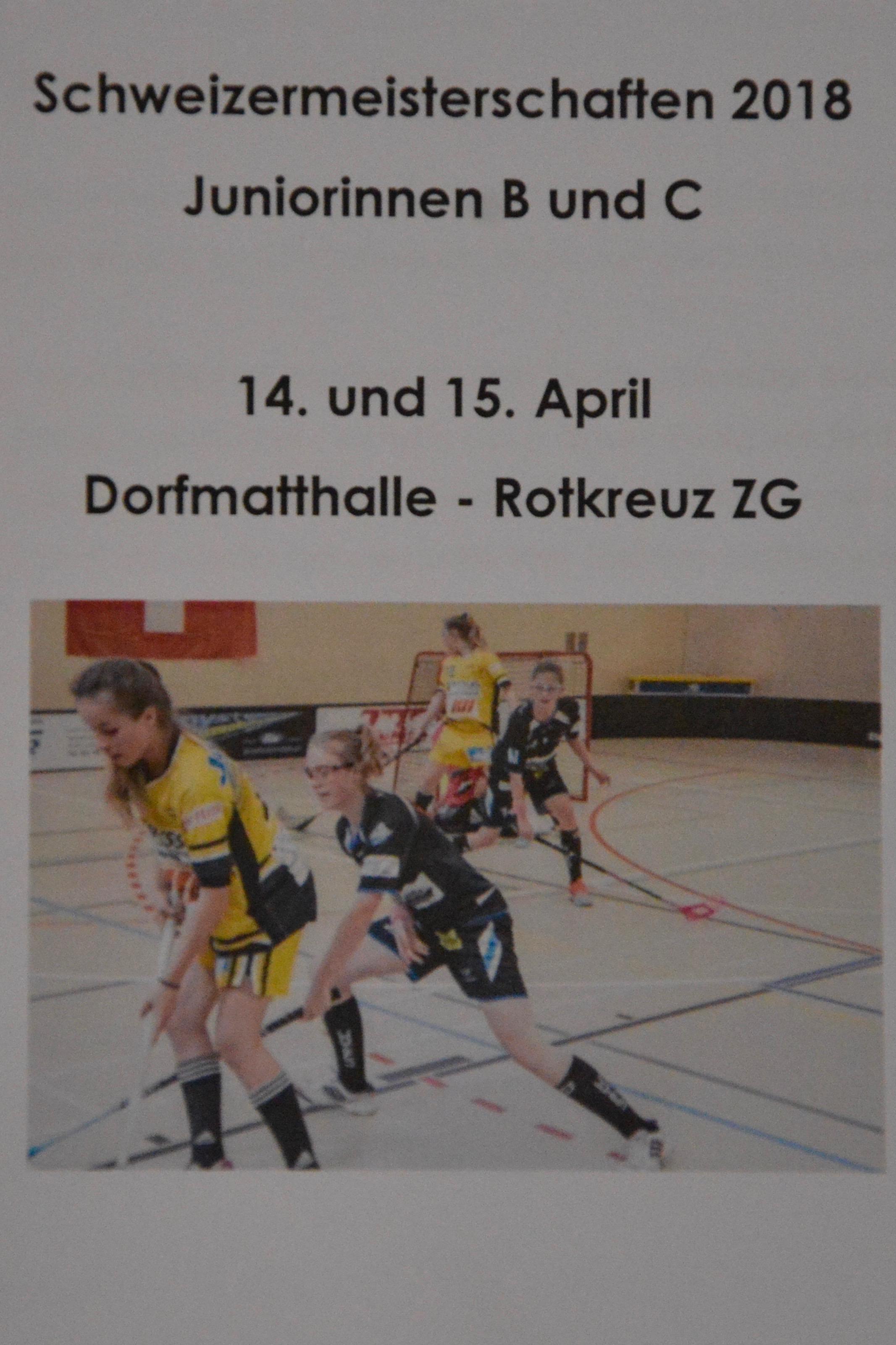 Juniorinnen C - Finalrunde gegen UHC Dietilkon Gruppenspiel Saison 2017/18