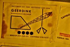 Nederland, The Netherlands, Holland, Holanda, Paises Bajos, suikerzakjes, sugarpacks, sucre dans des sacs, azucar en saquitos, Geerdink, aannemersbedrijf, Amsterdam,