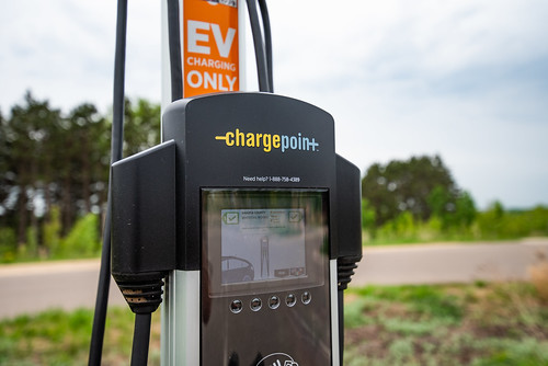 Chargepoint Electric Vehicle (EV) Charging Station | by Tony Webster