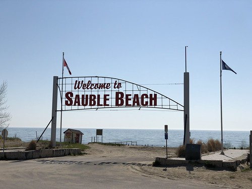 Sauble Falls - the beach sign | by Pierre Yeremian