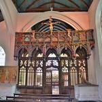 Le jubé de la chapelle de St-Fiacre