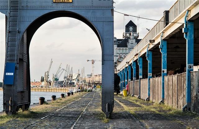 Antwerpen, Scheldekade.