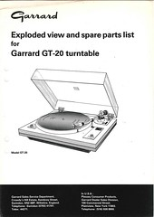 Garrard TechEng Service Manual GT-20