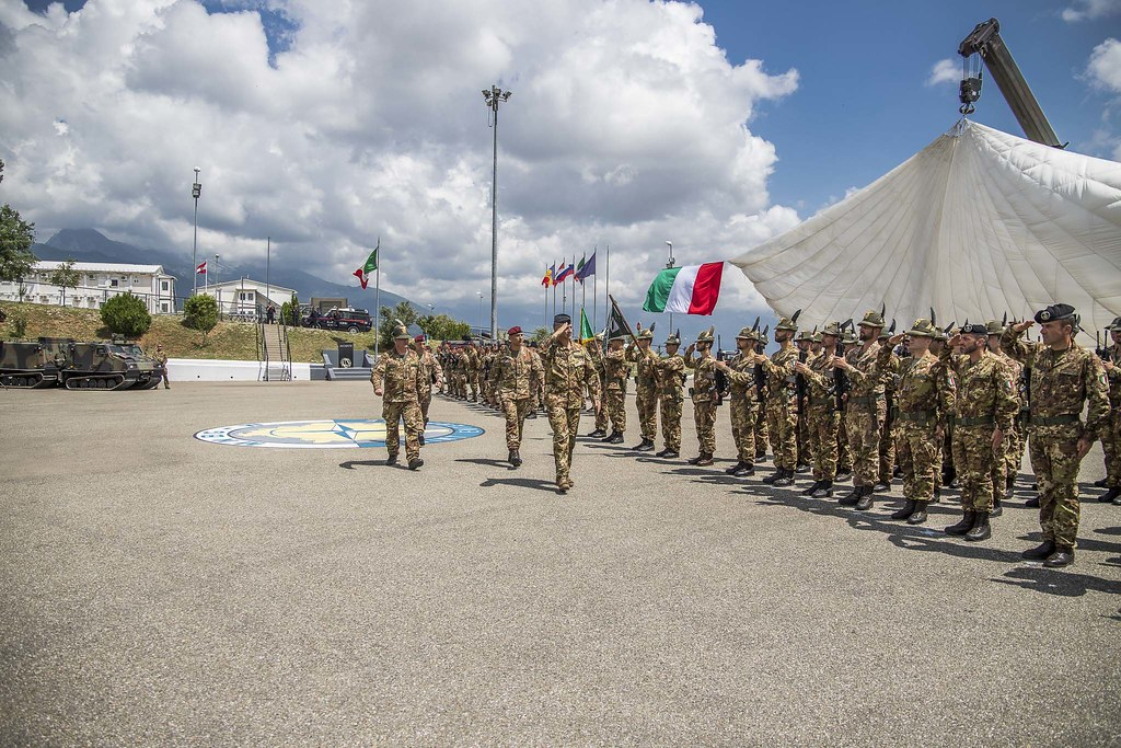 KFOR Units from Italian contingent of MNBGW   KFOR Kosovo