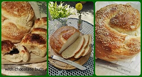 Rustic loaf...The Staff of Life....aka bread, broa, brod, pao, pan, pain, pane,brood, bara, brot, kruh....