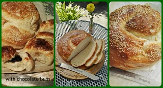 Rustic loaf...The Staff of Life....aka bread, broa, brod, pao, pan, pain, pane,brood, bara, brot, kruh....