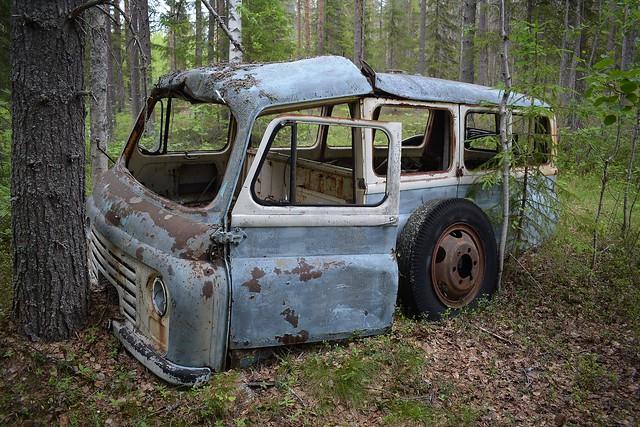 Morris J2 Van