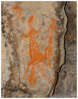 Ancient indigenous art site (est minimum 5,000 years BP) – Nourlangie, Kakadu NP, Northern Territory, Australia.01