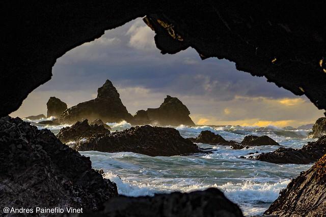 Portales #costachilena #paisaje #atardeceres #oceanopacifico #marabierto #caletas #puntaestaquilla #losmuermos #regiondeloslagos #surdechile
