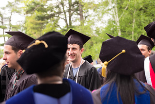 Colby College, Baccalaureate Procession | by romanboed