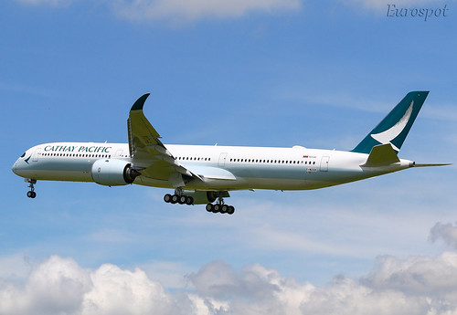 F-WZGV Airbus A350-1000 Cathay Pacific | by @Eurospot