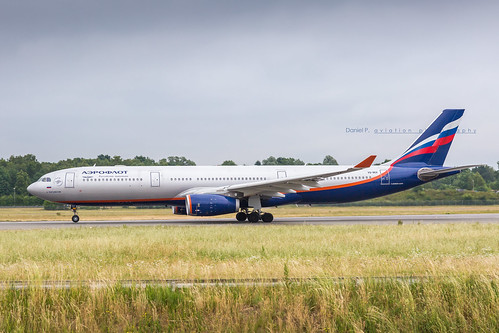 Aeroflot Russian Airlines Airbus A330-343 VQ-BEK 9221 Flickr | by Daniel P.346