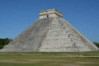 Z.A. Chichen Itza, La Piramide de Kukulkan.