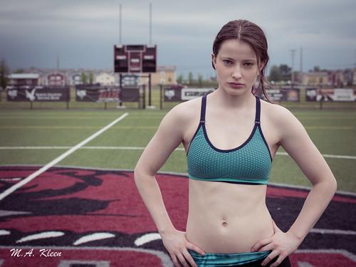 Sporty Leah
